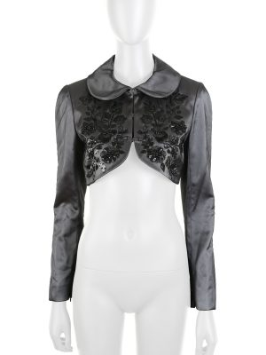 Embroidered Silk and Tulle Bolero by Givenchy - Le Dressing Monaco