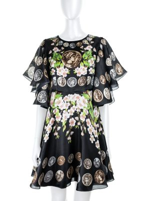 Sicily 2014 Silk Dress by Dolce e Gabbana - Le Dressing Monaco