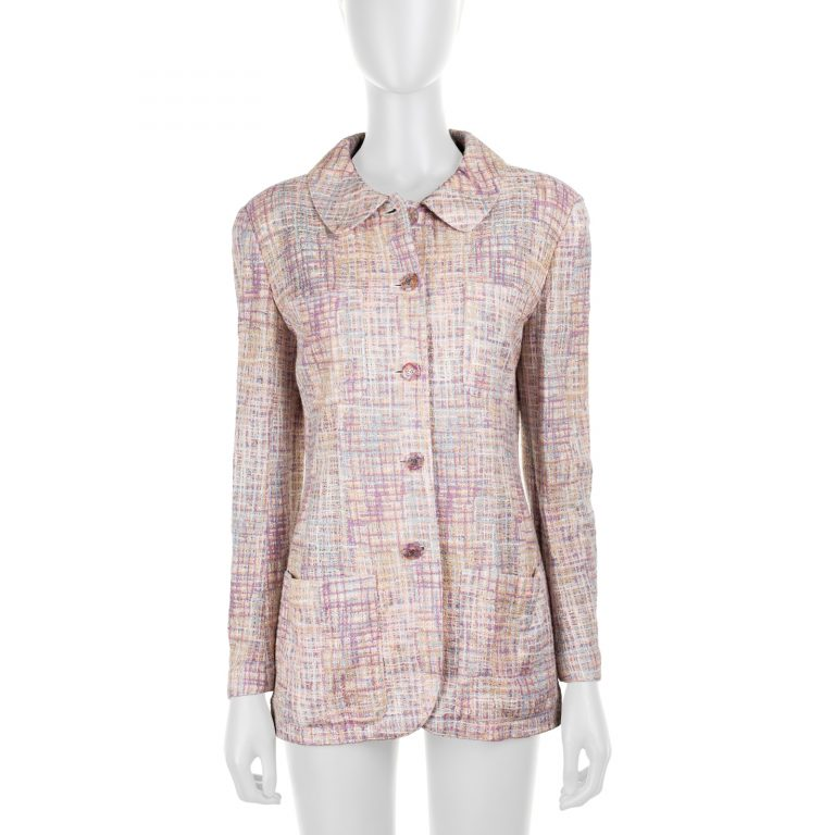 Four Pocketed Vintage Tweed Jacket by Chanel - Le Dressing Monaco