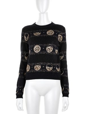 Cashmere Moons Jumper by Christian Dior - Le Dressing Monaco