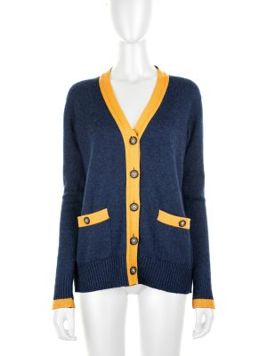 Bicolor Cashmere Cardigan by Chanel - Le Dressing Monaco