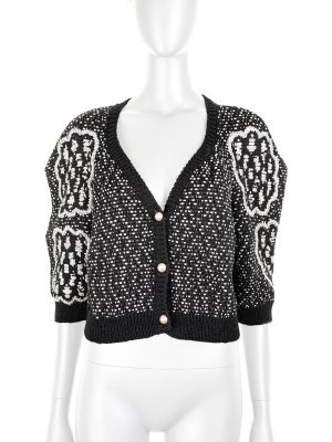 Three Buttoned Knitted Cardigan by Chanel - Le Dressing Monaco