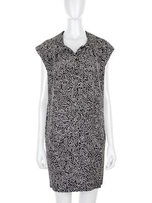 Printed Short Sleeved Dress by Saint Laurent - Le Dressing Monaco