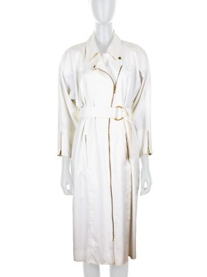 Vintage Off-White Trench Dress by Hermès - Le Dressing Monaco