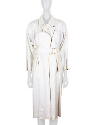 Vintage Off-White Trench Dress by Hermès - Le Dressing Monaco
