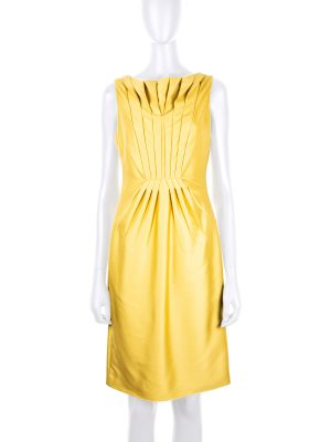 Sleeveless Pleated Cocktail Dress by Valentino - Le Dressing Monaco