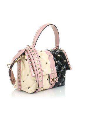 Candy Stone Rockstuds Handbag by Valentino - Le Dressing Monaco