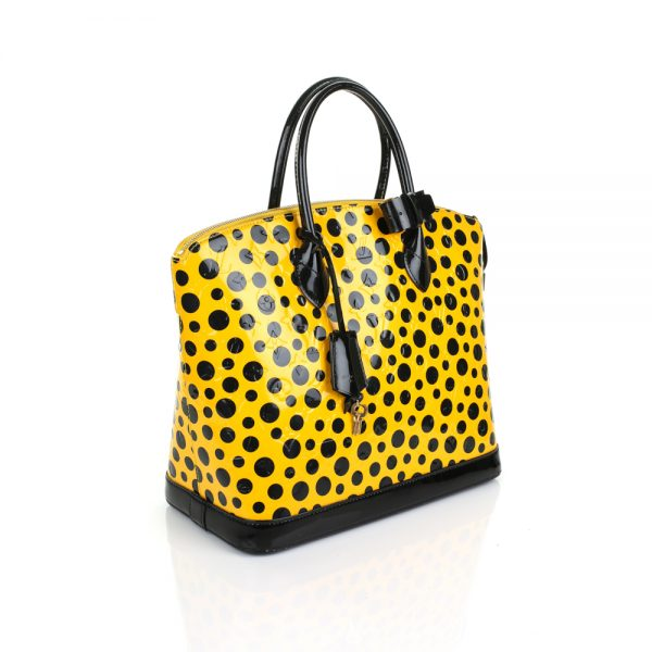 Kusama Patent Leather Dotted Handbag by Louis Vuitton - Le Dressing Monaco