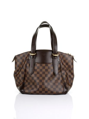 Checkered Canvas Verona Handbag by Louis Vuitton - Le Dressing Monaco