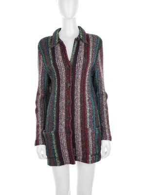Multicolored Knitted Cardigan by Missoni - Le Dressing Monaco