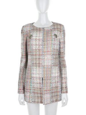 Multicolor Bouclé Jacket by Chanel - Le Dressing Monaco