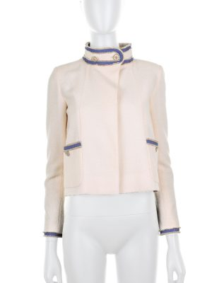 Short Jacket with Trimmed Edges by Chanel - Le Dressing Monaco