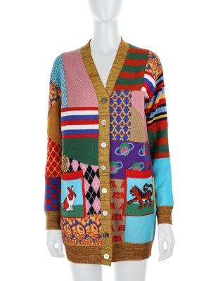Knitted Patchwork Cardigan by Gucci - Le Dressing Monaco