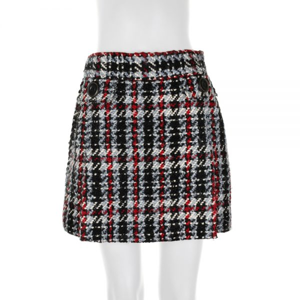 Thick Tweed Skirt by Dolce e Gabbana - Le Dressing Monaco