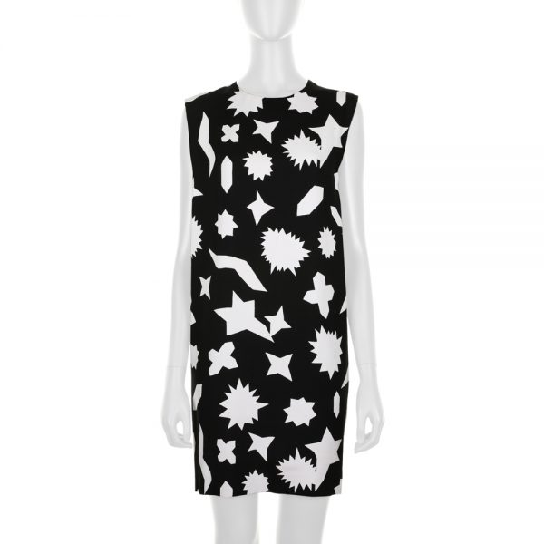 Fantasy Print Sleeveless Dress by Saint Laurent - Le Dressing Monaco