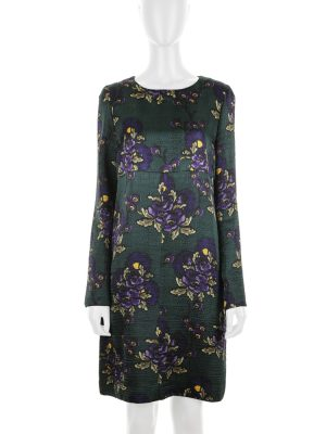 Flower Printed Wool Dress by Marni - Le Dressing Monaco