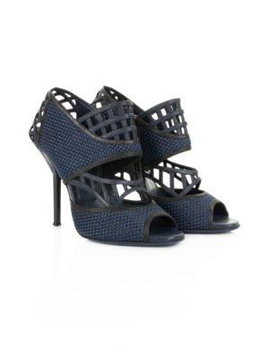 Blue High Heel Sandals by Vionnet - Le Dressing Monaco