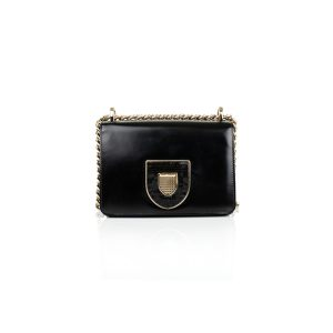 Black Diorama Handbag with Sequins by Christian Dior - Le Dressing Monaco