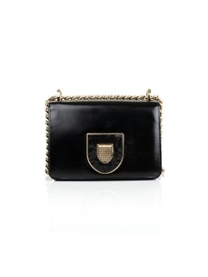 Black Diorama Handbag with Sequins by Christian Dior - Le Dressing Monaco