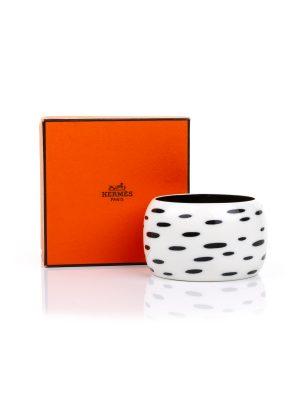 Plastic Bracelet Moko Pelage by Hermes - Le Dressing Monaco