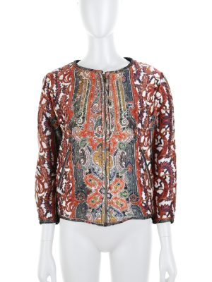 Printed Gamble Bomber Jacket by Isabel Marant - Le Dressing Monaco