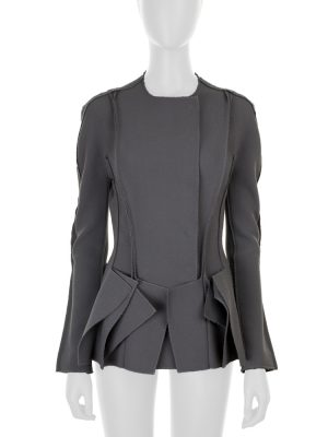 Short Grey Jacket by Bottega Veneta - Le Dressing Monaco