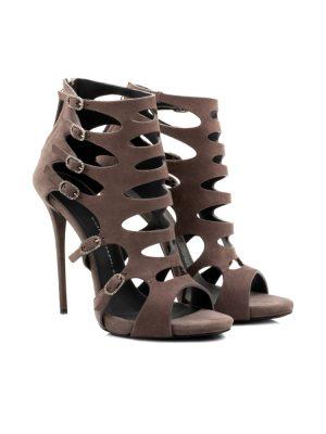 Laser Cut Ankle Sandals by Giuseppe Zanotti - Le Dressing Monaco