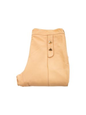 Nude Leather Pants by Vionnet - Le Dressing Monaco