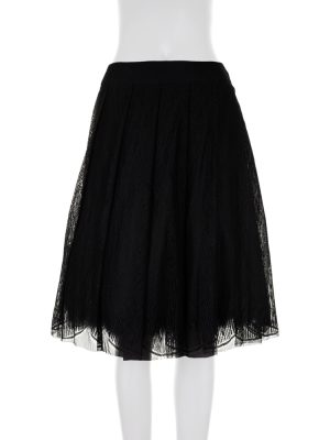 Layered Tulipe Skirt With Feathers by Chanel - Le Dressing Monaco