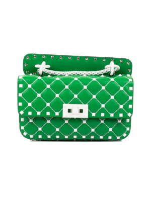 Spike Rockstud Shoulder Handbag
