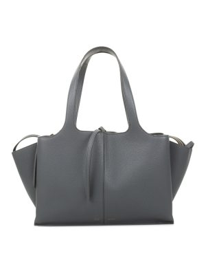Grey Tri-Fold Handbag by Céline