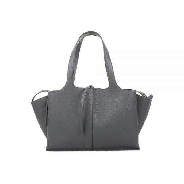 Grey Tri-Fold Handbag by Céline