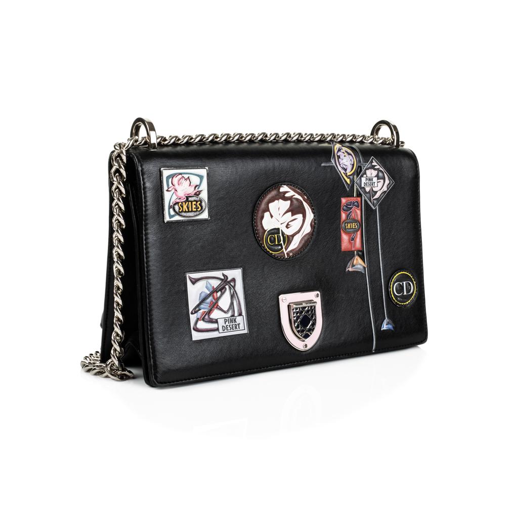5c63dea48cad Black Paradise Diorama Handbag by Christian Dior - Le Dressing Monaco