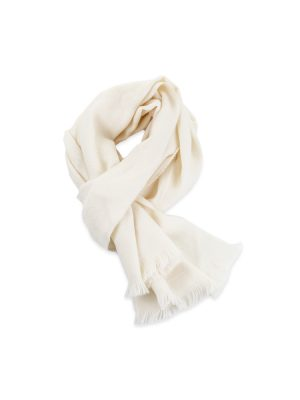 Off White GG Wool Scarf by Gucci - Le Dressing Monaco
