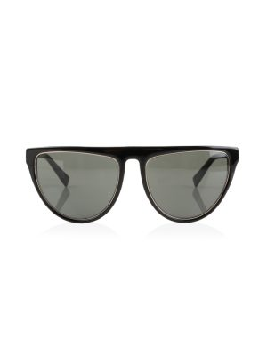 Black Cat Eye Sunglasses by Balmain - Le Dressing Monaco