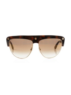Tortoise Brown Liane Aviator Sunglasses by Tom Ford - Le Dressing Monaco