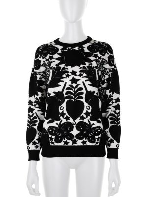 Naive Pagan Jacquard Sweater by Alexander McQueen - Le Dressing Monaco