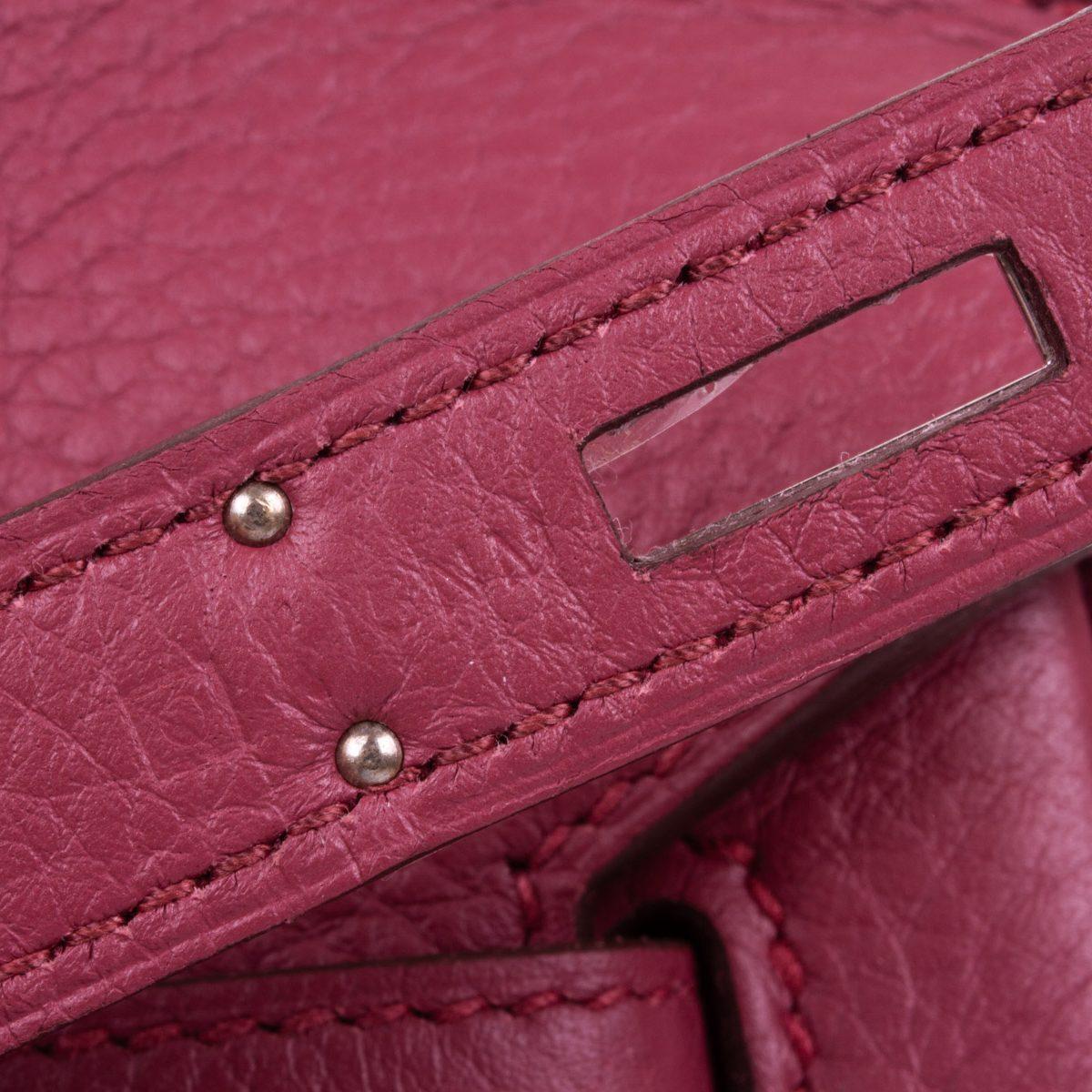 7203db3aa681 Birkin 35 Bois de Rose Taurillon Clémence by Hermès - Le Dressing Monaco