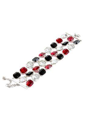Three Colored Stones Bracelet by Emporio Armani - Le Dressing Monaco