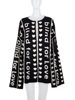 Oversize Blind For Love Cardigan by Gucci - Le Dressing Monaco