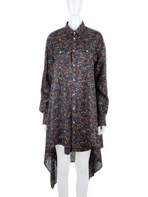 Floral Print Shirt Dress by Dsquared2 - Le Dressing Monaco