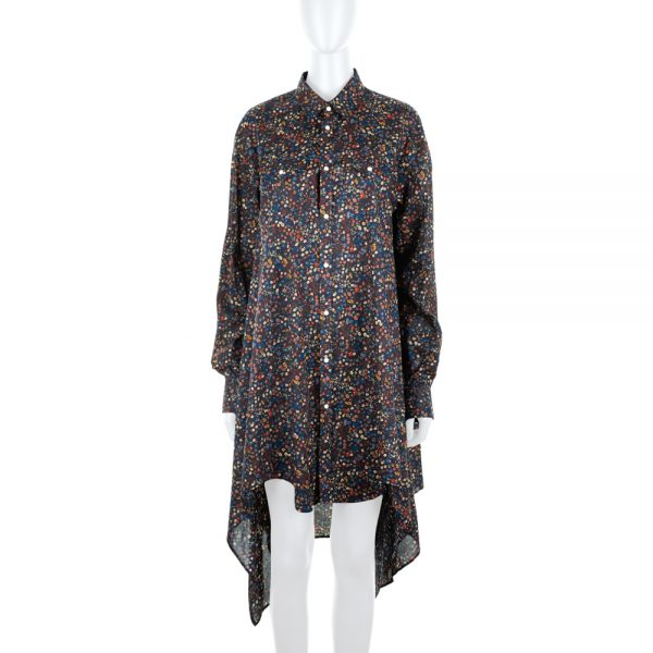 Floral Print Shirt Dress by Dsquared2 - Le Dressing Monaco