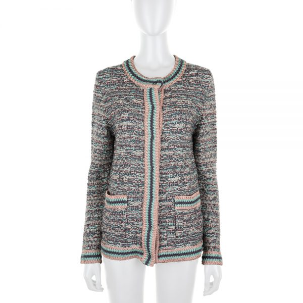 Pastel Lurex Cardigan by M Missoni - Le Dressing Monaco