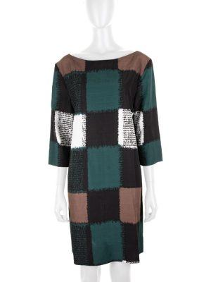 Short Sleeved Printed Dress by Marni - Le Dressing Monaco