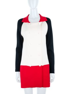 Knitted Two Pocketed Wool Jacket by Moschino - Le Dressing Monaco