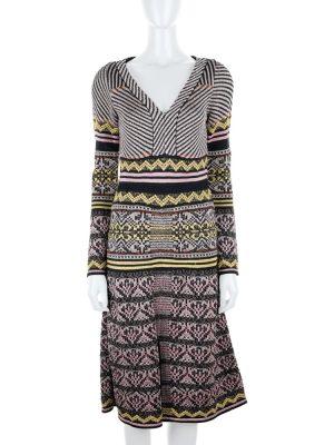 V Neck Lurex Dress by M Missoni - Le Dressing Monaco