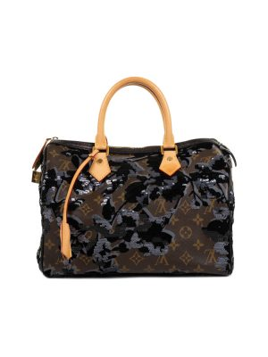 Fleur de Jais Speedy Handbag by Louis Vuitton - Le Dressing Monaco
