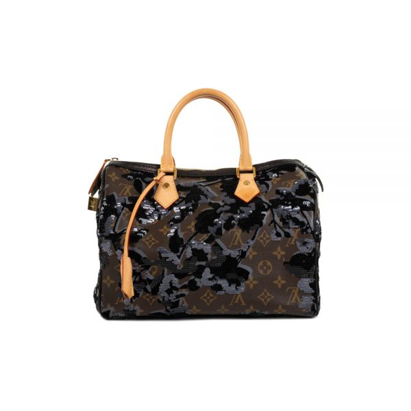 Fleur de Jais Speedy Handbag by Louis Vuitton - Le Dressing Monaco