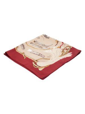 A Propos De Bottes Silk Scarf by Hermès - Le Dressing Monaco