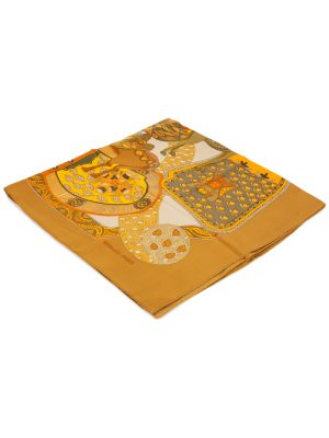 Art des Steppes Silk Scarf by Hermès - Le Dressing Monaco
